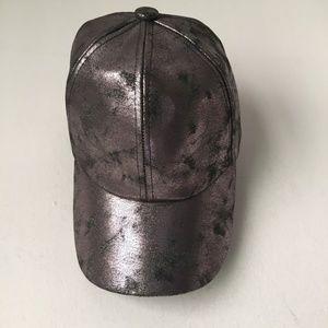 New w/ tags! POOKIE and SEBASTIAN Metallic Cap